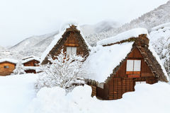 Shirakawa go Stock Image