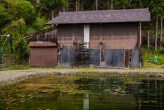 Shirakawa-go. Japan - May 3, 2016: Historical village of .  is one of Japan's UNESCO World Heritage Sites located in Gifu Prefecture, Japan Royalty Free Stock Photography