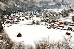 Shirakawa go, Japanese world heritage. Shirakawa-Go is the Japanese world heritage. Winter is the best season for visiting Stock Photography