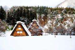 Shirakawa go, Japanese world heritage. Shirakawa-Go is the Japanese world heritage. Winter is the best season for visiting Stock Photo