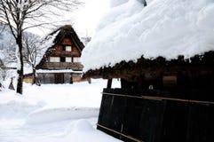 Shirakawa go, Japanese world heritage. Shirakawa-Go is the Japanese world heritage. Winter is the best season for visiting Royalty Free Stock Photos