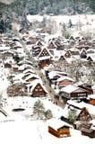 Shirakawa go, Japanese world heritage. Shirakawa-Go is the Japanese world heritage. Winter is the best season for visiting Royalty Free Stock Photo