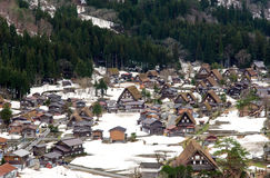 Shirakawa-Go Stock Photography