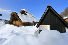 Shirakawa go village hut Stock Image