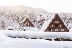 Shirakawa go village in japan Royalty Free Stock Photography