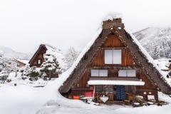 Shirakawa go village in japan Royalty Free Stock Image