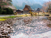 Shirakawa-go village, Japan 4 Stock Image