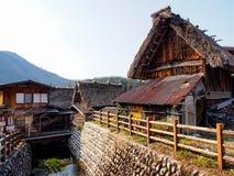 Shirakawa-go village, Japan 6 Royalty Free Stock Photo