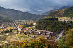 Shirakawa go, the world heritage villages Stock Images