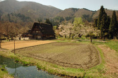 Shirakawa-gou Photo stock