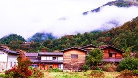 Shirakawa iść wioska w Japan Zdjęcia Royalty Free