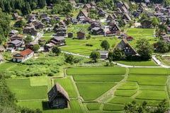 Shirakawa by, Japan - en UNESCOvärldsarv Royaltyfria Foton