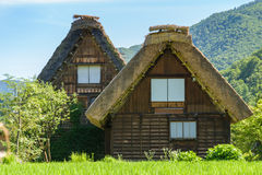 Shirakawa or Shirakawa-go, A Small traditional Historic villages Stock Images