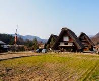 Shirakawa-va il villaggio, Giappone 7 Immagini Stock Libere da Diritti