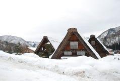 Shirakawa-vada Fotografia Stock Libera da Diritti