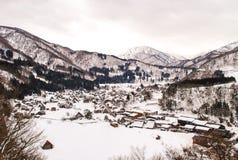 Shirakawa-vada Immagini Stock
