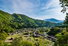 Shirakawa-vada Immagine Stock