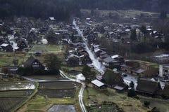 Shirakawa-vada Immagini Stock Libere da Diritti