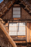 Shirakawa-vada nell'inverno Fotografia Stock Libera da Diritti