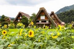 Shirakawa-vai, Japão Fotos de Stock Royalty Free