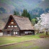 Shirakawa village Stock Photography