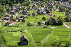 Shirakawa Village, Japan - A UNESCO World Heritage Site Royalty Free Stock Photos