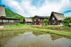 Shirakawaerfenis royalty-vrije stock fotografie