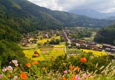 Shirakawago Fotografia de Stock Royalty Free
