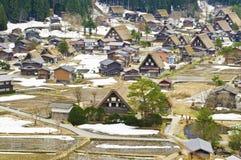 Shirakawago lizenzfreies stockbild