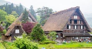 Shirakawago Fotografia Stock Libera da Diritti