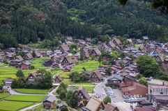 Shirakawago Photographie stock libre de droits