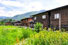 Shirakawago 免版税库存图片