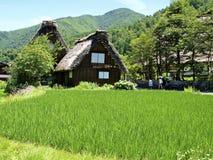 Shirakawago Foto de Stock Royalty Free