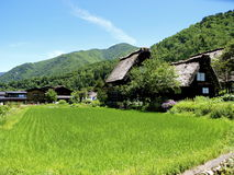 Shirakawago Fotos de Stock Royalty Free