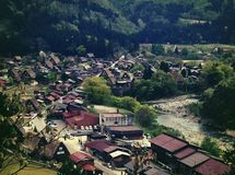 Shirakawago Stockfoto