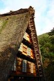 Shirakawago Dorf, Japan Lizenzfreie Stockfotografie