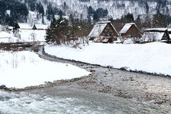 Shirakawago, Gifu, Japan Stock Image