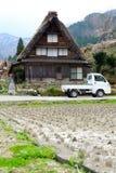 Shirakawago Gifu Takayama Japan Royalty-vrije Stock Foto