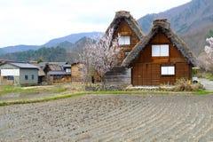 Shirakawago Gifu Takayama Japan. Unesco World Heritage Village, Shirakawago, Gifu, Takayama, Japan Royalty Free Stock Photo