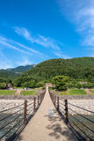Shirakawago historic villages Royalty Free Stock Images
