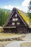 Shirakawago house Royalty Free Stock Image
