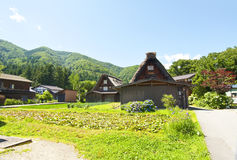 Shirakawago, Japan Royalty Free Stock Photo