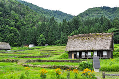 Shirakawago Japan Stock Photo