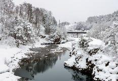 Shirakawago Japan Winter Royalty Free Stock Photos