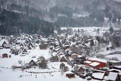 Free Shirakawago, Japan Winter Village Stock Image - 202634731