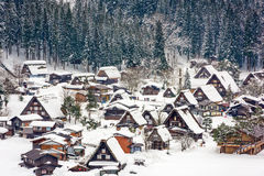Shirakawago Japanese Village Royalty Free Stock Images