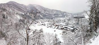 Shirakawago Panorama stock images