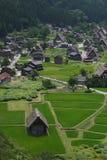 Shirakawago. Viewpoint, Historical Japanese Village Royalty Free Stock Image