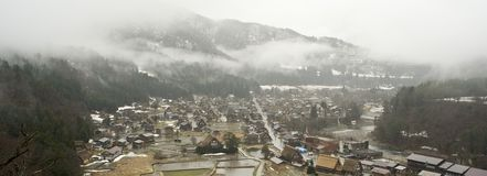 Shirakawago village japan Stock Image
