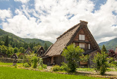 Shirakawago village, Japan Stock Photos